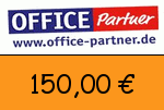 Office-partner 150,00 Euro Gutscheincode