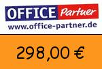 Office-partner 298,00 Euro Gutscheincode