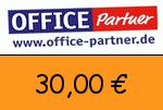 Office-partner 30,00€ Gutscheincode