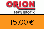 Orion.at 15 Euro Gutscheincode