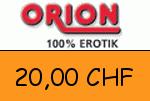Orion.ch 20,00 CHF Gutscheincode