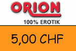 Orion.ch 5,00 CHF Gutschein