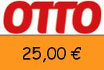 Otto 25,00 Euro Gutscheincode