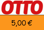 Otto 5,00€ Gutschein