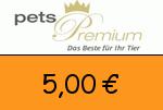 Petspremium 5,00€ Gutscheincode