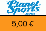 Planet_Sports 5,00€ Gutschein