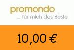 Promondo 10,00 Euro Gutscheincode