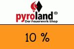 Pyroland 10 Prozent Gutschein