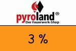 Pyroland 3 Prozent Gutschein