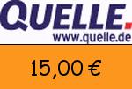 Quelle 15 Euro Gutscheincode