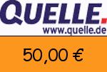 Quelle 50,00 € Gutscheincode