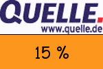 Quelle 15 % Gutscheincode