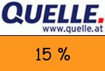 Quelle.at 15 % Gutscheincode