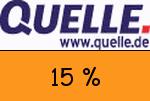 Quelle.ch 15 % Gutscheincode