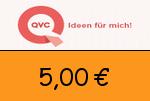 QVC 5,00€ Gutscheincode