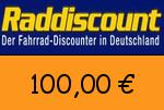Raddiscount 100 Euro Gutscheincode