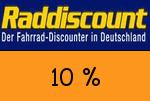 Raddiscount 10 Prozent Gutschein