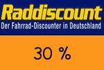 Raddiscount 30% Gutschein