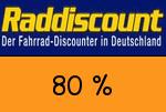 Raddiscount 80 Prozent Gutschein