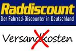 Versandkostenfrei bei Raddiscount