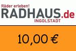 Radhaus 10,00 Euro Gutschein
