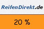 ReifenDirekt 20 Prozent Gutscheincode
