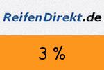 ReifenDirekt 3 Prozent Gutschein