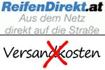 ReifenDirekt.at versandkostenfrei Gutschein