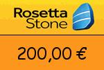 RosettaStone 200,00 Euro Gutscheincode