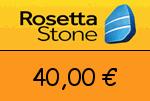 RosettaStone 40,00 Euro Gutscheincode