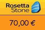 RosettaStone 70,00 Euro Gutscheincode