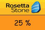 RosettaStone 25 Prozent Gutscheincode