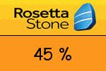 RosettaStone 45 Prozent Gutscheincode
