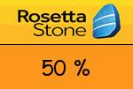 RosettaStone 50 % Gutscheincode