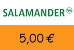 Salamander 5,00€ Gutscheincode