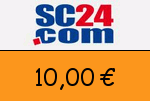 SC24.com 10,00 Euro Gutscheincode