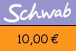 Schwab 10,00 Euro Gutschein