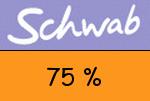 Schwab 75 Prozent Gutschein
