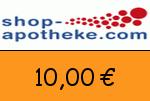 Shop-Apotheke 10,00 Euro Gutscheincode