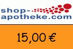 Shop-Apotheke 15 Euro Gutscheincode