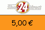 shop24direct 5,00€ Gutschein