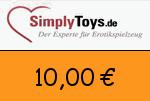 SimplyToys 10,00 Euro Gutscheincode