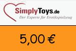 SimplyToys 5,00€ Gutscheincode