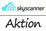Aktion bei Skyscanner