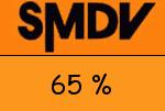 SMDV 65 Prozent Gutschein