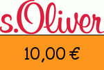 sOliver 10,00 Euro Gutscheincode
