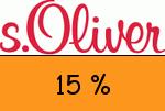sOliver 15 % Gutscheincode