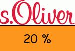 sOliver 20 Prozent Gutscheincode