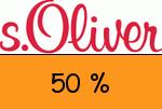 sOliver 50 % Gutschein