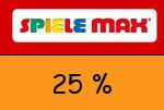 Spiele-Max 25 Prozent Gutschein
